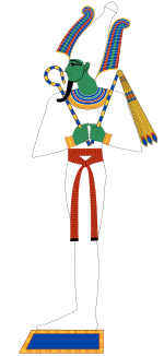 Egypian god Osiris